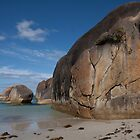 Huge Rock at Elephant Rocks Beach, Western Australia by Leonie Mac Lean
