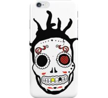 RIP MCs - Gangsta Rapper Sugar Skulls iPhone Case/Skin