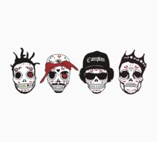 RIP MCs - Gangsta Rapper Sugar Skulls Kids Clothes