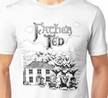 FATHER TED DRAWING Unisex T-Shirt