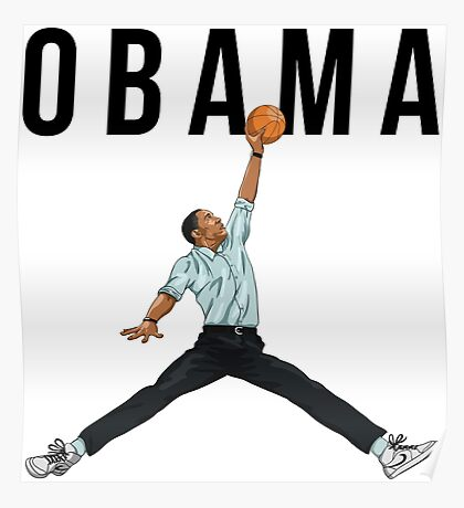 Obama Basketball Mashup Poster