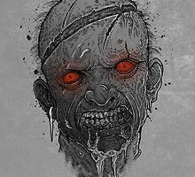 The Undead Man by GODZILLARGE