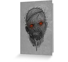The Undead Man Greeting Card