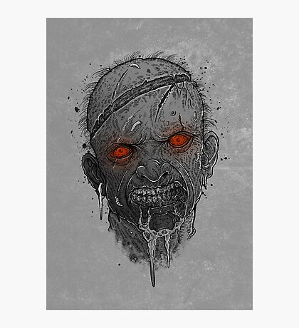The Undead Man Photographic Print