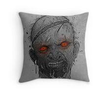 The Undead Man Throw Pillow