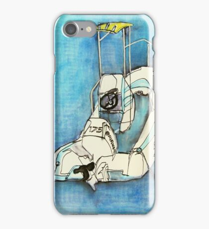 inert speed boat - Elizabeth Bay iPhone Case/Skin
