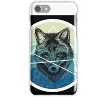 Geometric Fox Halo iPhone Case/Skin