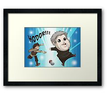 I Choose Hodor! Framed Print