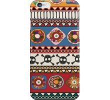 Aztec background iPhone Case/Skin