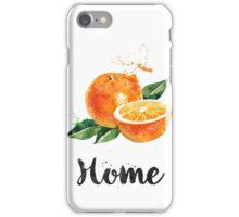 Orange. Home iPhone Case/Skin