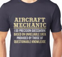 Aircraft Mechanic Definition Funny Gift T-Shirt Unisex T-Shirt