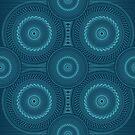 Blue Mandala by buzatron