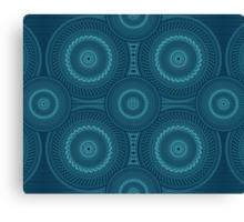 Blue Mandala Canvas Print