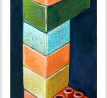 Duplo Altar Sticker