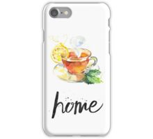 Tea cozy home iPhone Case/Skin