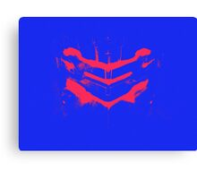 Dead Space - Isaac Clarke - Blue and Pink Canvas Print