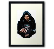Snoop Dogg's Diczionizzle Fo Shizzle Framed Print