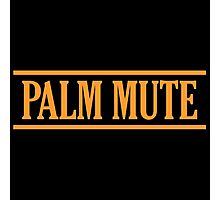 Orange Palm Mute Photographic Print