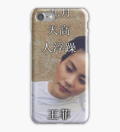 Faye Wong Wang Fei iPhone Case/Skin