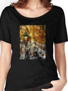 LampPost in Narnia Women's Relaxed Fit T-Shirt