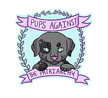 Pups against Patriarchy Photographic Print