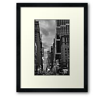 7th Avenue Valley  Framed Print