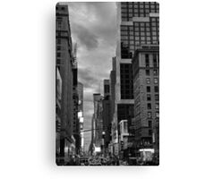 7th Avenue Valley  Canvas Print