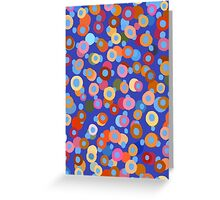 Confetti six Greeting Card