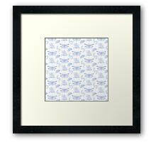Bug Toile  Framed Print