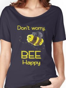 Bee Happy! Women's Relaxed Fit T-Shirt