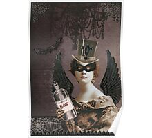 Winged Vampire Masquerade Poster