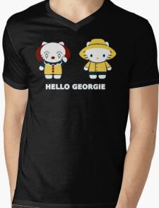 Georgie Mens V-Neck T-Shirt