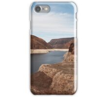 Colorado river under the Hoover dam iPhone Case/Skin