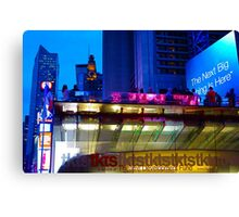 Broadway Tickets  Canvas Print