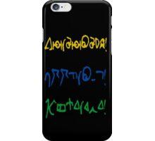 Fantastic, allons-y, geronimo iPhone Case/Skin