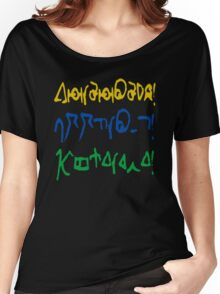 Fantastic, allons-y, geronimo Women's Relaxed Fit T-Shirt