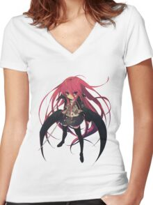 shakugan no shana Women's Fitted V-Neck T-Shirt