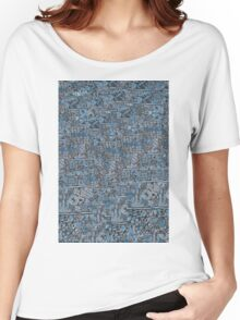 Modern abstract & geometric design Women's Relaxed Fit T-Shirt