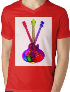 The Art of Rock 'n' Roll Mens V-Neck T-Shirt