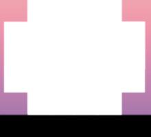 Pink Mushroom Sticker