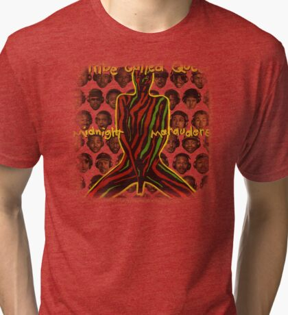 atcq midnight marauders  Tri-blend T-Shirt