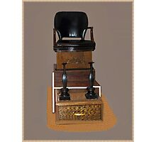 .•*Shoe Shine Stand*•.¸ Photographic Print