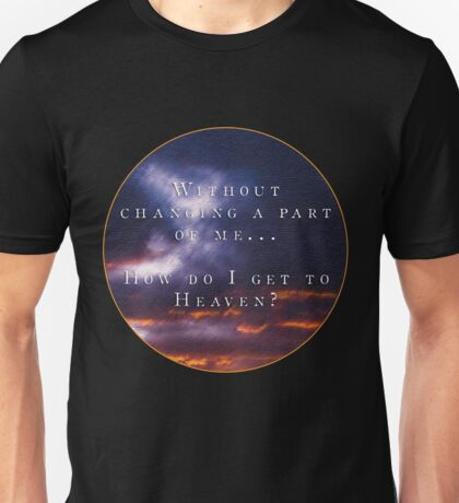 "Troye Sivan ""Heaven"" Inspired Design + Lyrics Unisex T-Shirt"