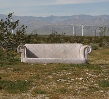 Desert Couch 3 by Cody  VanDyke