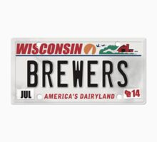 License Plate - BREWERS by TswizzleEG
