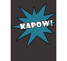 Kapow! T-Shirts Photographic Print