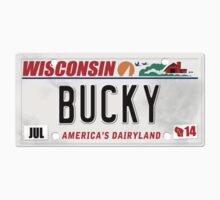 License Plate - Bucky Kids Clothes