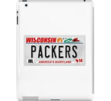 License Plate - PACKERS iPad Case/Skin