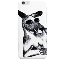 Cool Kangaroo iPhone Case/Skin