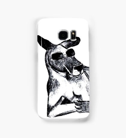 Cool Kangaroo Samsung Galaxy Case/Skin